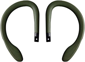 Sports Ear Hooks, Multicolor Ear Hooks Loop Clip Replacement Soft Silicone for PowerBeats 3 Wireless Headphones (Green)