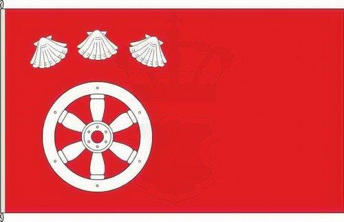 Königsbanner Autoflagge Großauheim - 30 x 45cm - Flagge und Fahne