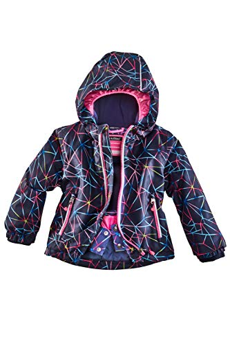 Killtec Kinder Sivany Mini Skijacke, türkis, 122/128