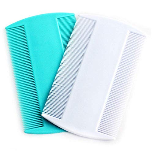 Comb Double Sided Head Comb Protable Fine Tooth Head Hair Combs For Styling Tools Massage Fine Dandruff Household Multifunction