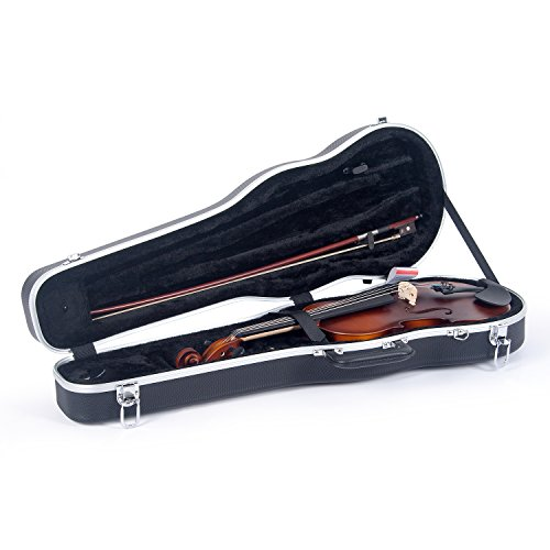 Crossrock 4/4 Violin Case-Backpack Style in Black (CRA800SVFBK)