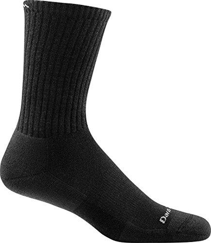 Darn Tough Standard Issue Crew Light Sock - Men's Black Large