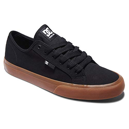 DC Shoes Manual-für Herren, Zapatillas para Hombre, Negro, 38.5 EU