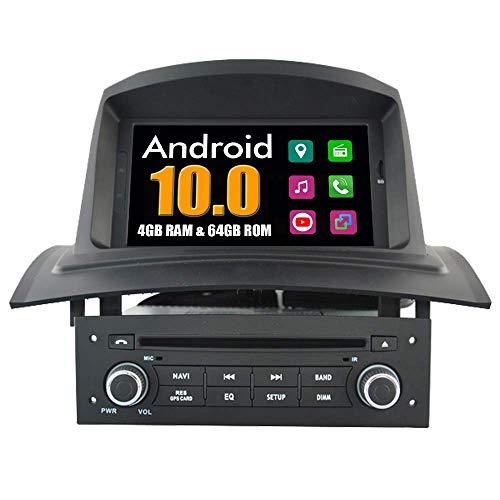 KLL Sistema Android Reproductor DVD del Coche para Renault Megane II 2002-2008 con Multimedia GPS Navegacioacute;n Radio Bluetooth USB Mirror Link Esteacute;REO