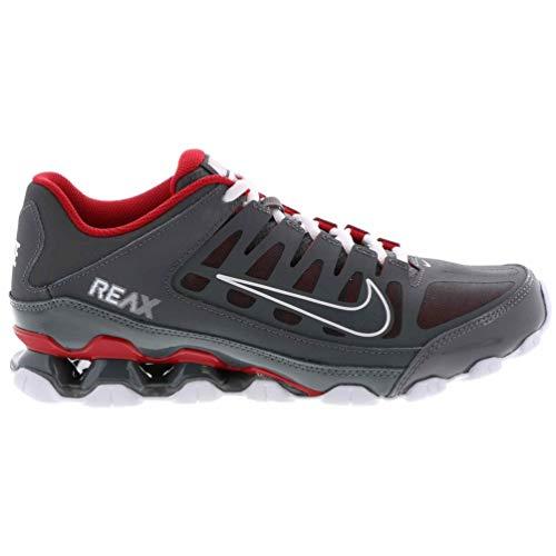 Nike Men's Reax 8 Mesh Training Shoes (9.5 D(M) US, Dark Grey/Dark Grey/Gym Red)