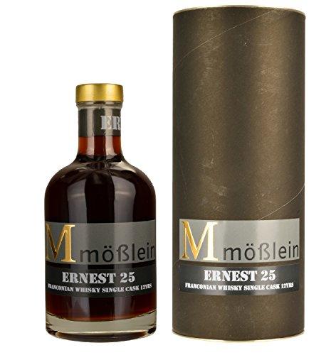 Mößlein Ernest 25 Franconian Single Cask Whisky 12 Jahre im Eichenholzfass gereift (1 x 0.35l)