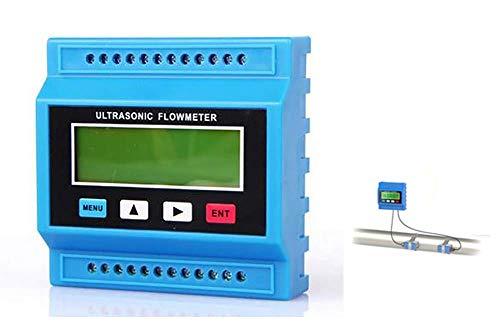 Nuokix Numérique à ultrasons Débitmètre Débitmètre à ultrasons Module de débit/RTU avec transducteur M (DN50-700mm) -30 ~ + 90C Balayage