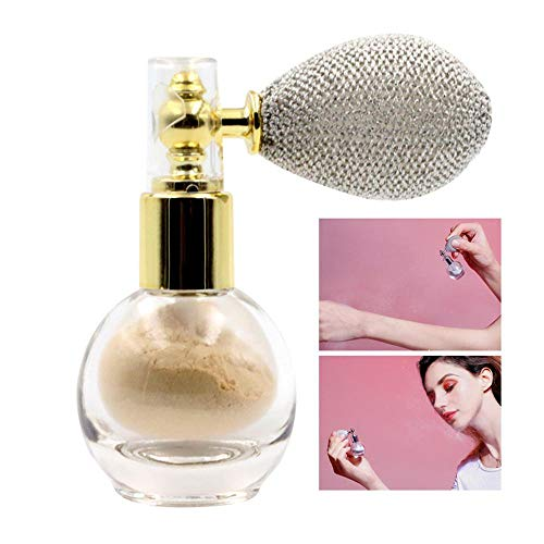 Hamkaw Body Spray Glitter Powder, Hautfreundliches Shimmer Cream Powder, Highlighting Powder