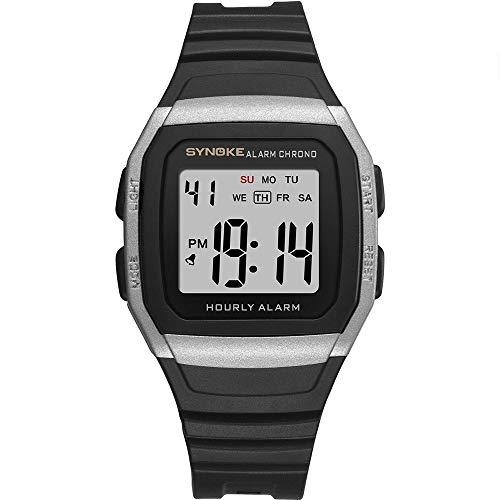 Withou Reloj de los Hombres de múltiples Funciones electrónica, Deportes al Aire Libre del Alpinismo del Reloj, a Prueba de Golpes y Resistente a la caída, Luminoso Impermeable del Reloj de Moda