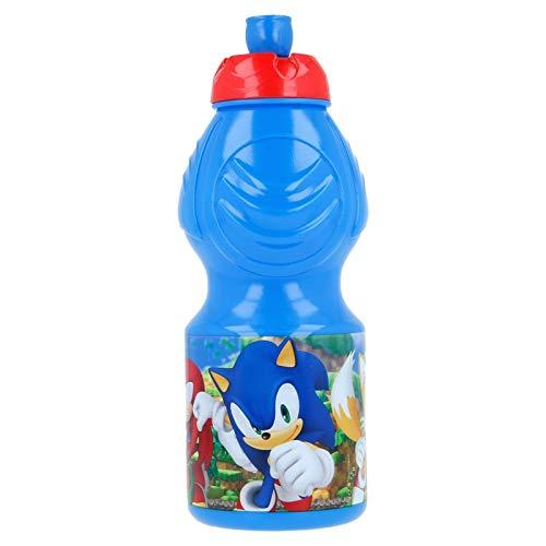 ALMACENESADAN 0654, Botella Sport Sonic; para la Vuelta al Cole o Cual