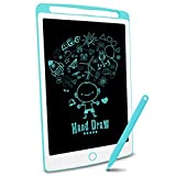 Richgv LCD Writing Tablet, 10 inches Electronic Graphic Tablet, Writing & Drawing Doodle Board with Memory Lock for Home, School,Office, Blue