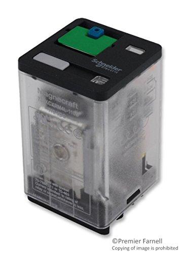 Power Relay, 3PDT, 110 VDC, 10 A, 788 Series, Socket