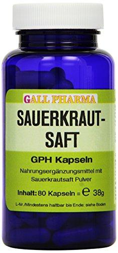 Gall Pharma Sauerkrautsaft GPH Kapseln, 80 Kapseln
