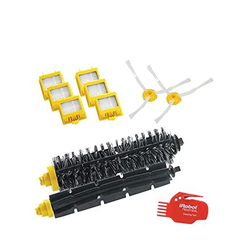 4503462 Robot aspirador Filtro y cepillo accesorio y suministro de vacío - Accesorio para aspiradora (Robot vacuum, Filtro y cepillo, Negro, Rojo, Amarillo, 6 pieza(s), 1 brush cleaning tool)