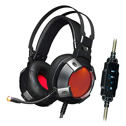 LOVIVER Stereo Wired Gaming Headsets Headphone with Mic Noise Cancelling for PC Computer