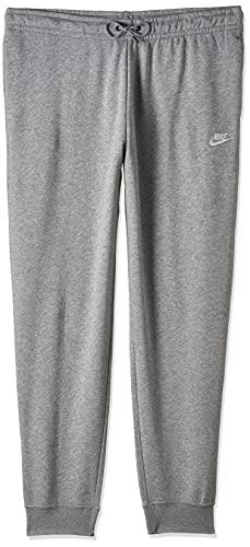 Nike Damen Sportswear Essential Jogginghose, Dark Grey Heather/White, S
