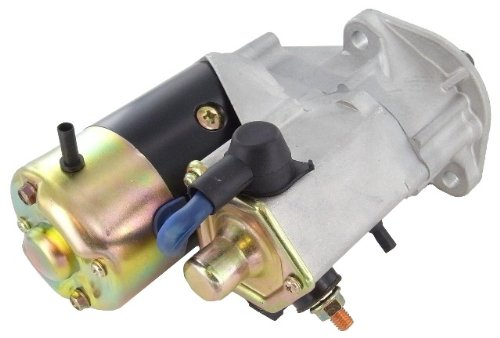 New Replacement New Starter For Bobcat, Clark, Elgin Sweeper, Galion, John Deere, John Deere Marine, Wood Loader, Skid Steer Loader, Grader, Cotton Picker, 12 Volts, 2.5 kW