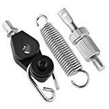 Replacement Bass Drum Foot Pedal Spring Cam Tensioner Drum Set Foot Pedal Complete Spring Assembly for Percussion Instrument Parts - Style 1
