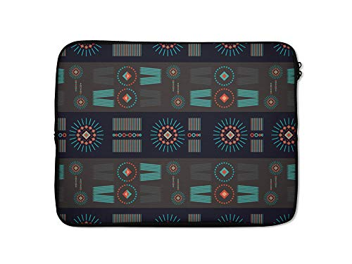 Funda protectora para MacBook HP DELL iPad Macbook Lenovo (9-10 pulgadas, diseño étnico)