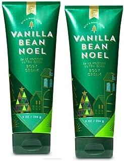 Bath and Body Works 2 Pack Vanilla Bean Noel Ultra Shea Body Cream 8 Oz.