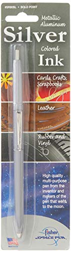 Fisher Space Pen Silver Space Pen  Bold Point Blistered SR80SL