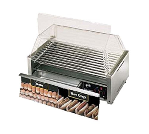 of bella hot dog cookers Star Mfg Grill Max 1535-W Grill f/ 50 Hot Dogs w/ Bun Drawer