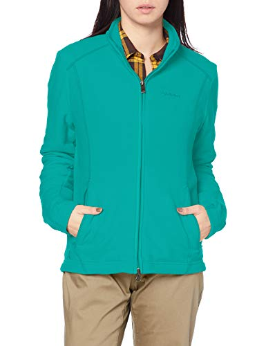 Schöffel Damen Fleece Jacket Leona2 Fleecejacke, teal blue, 40