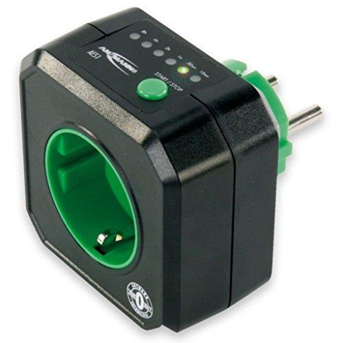 Ansmann AES1 Timer-Steckdose mit Energiesparfunktion - Energiesparsteckdose, Zeitgesteuert