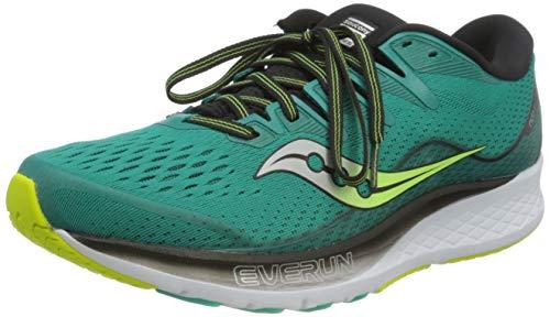 Saucony Ride ISO 2, Zapatillas de Running Hombre, Verde (Verde 37), 45 EU