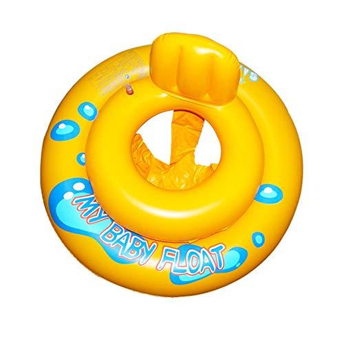 Anillo de natación inflable para bebé de tamaño de bebé anillo doble anti-espalda anillo de bebé