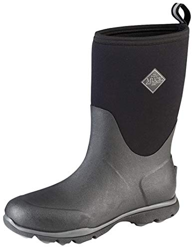 Muck Boots Arctic Excursion Mid, Bottes & Bottines de Pluie Homme, Noir (Black/Castlerock), 46 EU