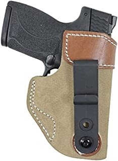 DeSantis 106NA8JZ0 Gunhide, Sof-Tuck Inside The Pant Holster, Fits Sig P365, Right Hand, Tan Leather, N/A