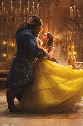"""Trends International Beauty & The Beast Iconic Wall Poster 22.375"""" x 34"""""""