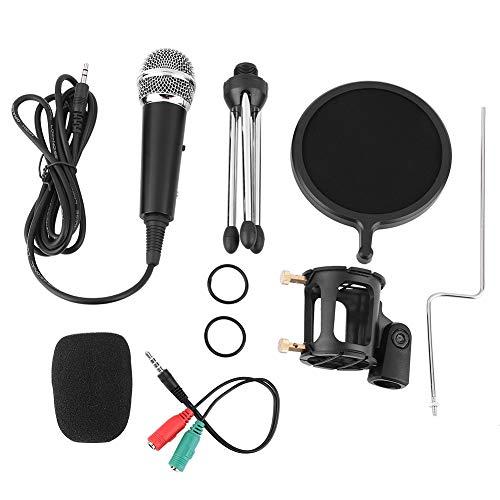 Mikrofonkondensation, Kondensatormikrofon Studio Karaoke-Aufnahmemikrofon für Computer/Mobiltelefon