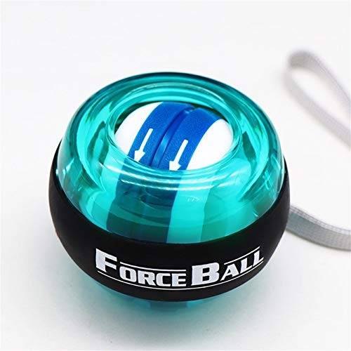 Gyro Power Ball, Selbstanlauf Cordless Led-Handgelenk-Kugel, Handgelenk Muskeltrainingsgerät, entspannender Arm Trainingsmaschine Fitnessgeräte, Stärkung der Muskeln und Knochen Übung