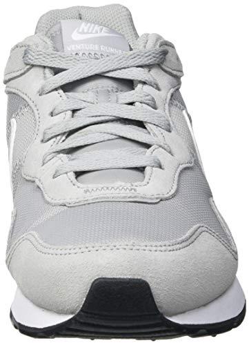 Nike Venture Runner, Zapatillas Hombre, Gris (Light Smoke Grey/White/Black), 43 EU