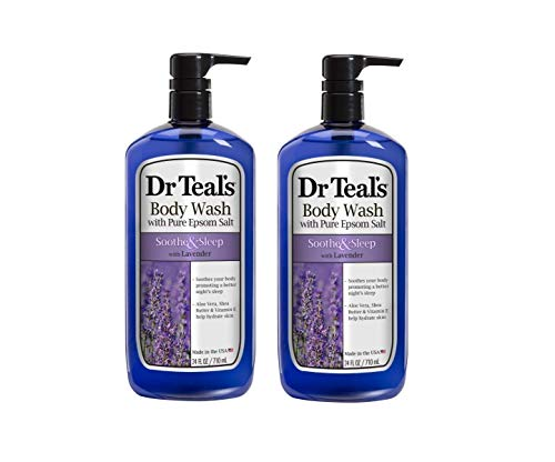 Dr Teal's Pure Epsom Salt Body Wash Soother & Moisturize With Lavender 24...