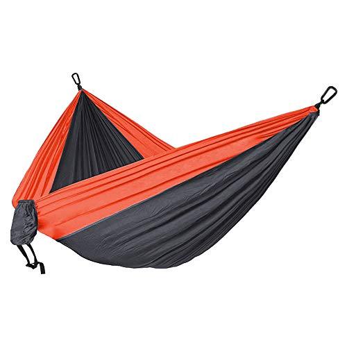 BAGSPERTS™ Hängematte | Bequeme, leichte & robuste Hängematte für Camping, Reise, Outdoor & mehr | inkl. Karabiner
