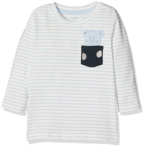 Name It Nbmdego Ls Top Box T-Shirt À Manches Longues, Multicolore (Skyway Skyway), 95 (Taille Fabricant: 80) Bébé garçon
