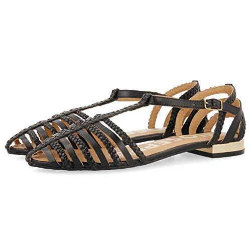 Gioseppo Harmony, Zapatos Tipo Ballet Mujer, Negro, 39 EU