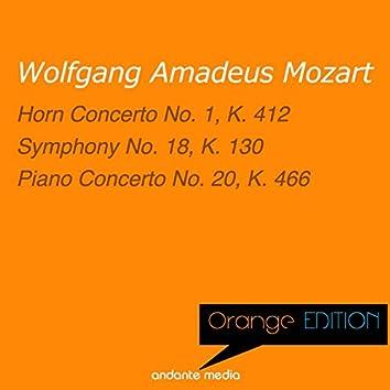 Orange Edition - Mozart: Horn Concerto No. 1, K. 412 & Piano Concerto No. 20, K. 466