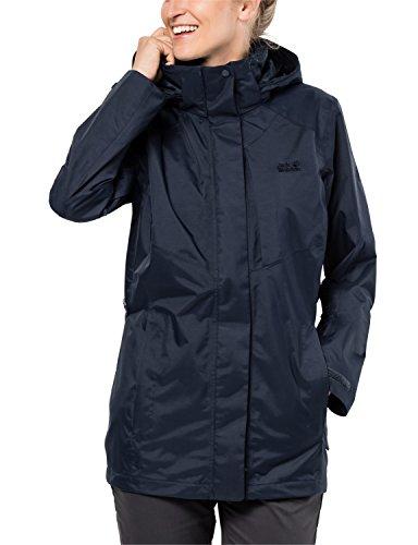 Jack Wolfskin Mellow Range Flex, ademend, waterdicht, winddicht, outdoorjas, wandeljas, regenjas, weerbestendige jas