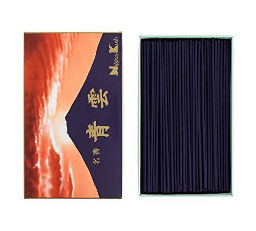 nippon kodo Incienso japonés, Rojo, 16 x 9 x 4,5 cm, 480