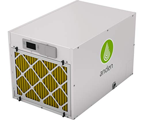 Anden / Aprilaire Grow-Optimized Industrial Dehumidifier, 210 Pints/Day 240v, White