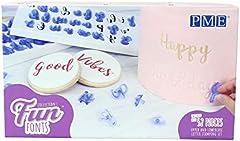 PME Alphabet Stamp Set of 52, Upper and Lower Case, Collection 1 Fun Fonts-Juego de Sellos de Alfabeto (52 Unidades, mayúsculas e Inferiores), colección 1