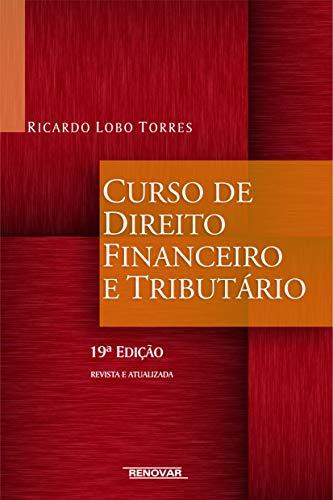Curso de Direito Financeiro e Tributário