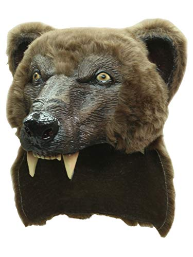 Ghoulish Productions, Cougar Helmet Halloween Party Adult Costume Latex Mask