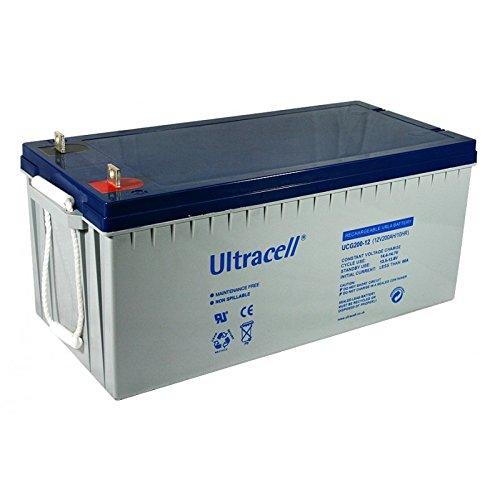 Exide : Puissante batterie GEL à décharge lente, 12V 200Ah