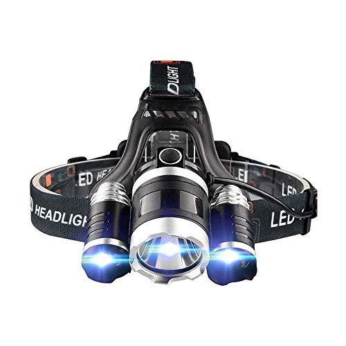 ZBQLKM Faro, 3 LED Battery Powered Impermeable 3 Modos LED Linterna Luces para Acampar, Pesca, Senderismo, Aire Libre