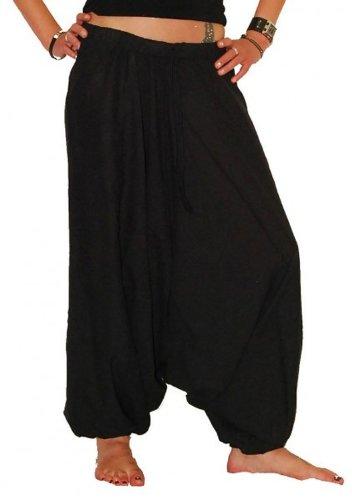 KUNST UND MAGIE Haremshose OneSize in schwarz, Farbe:Black/Schwarz, Größe:One Size